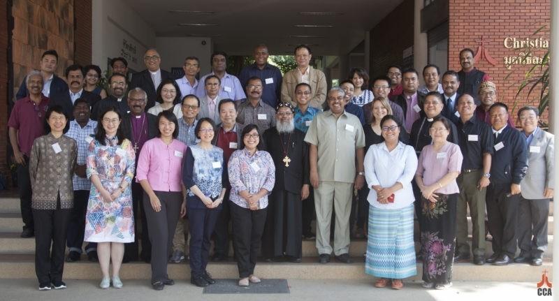 世界教會理事會(WCC)和亞洲基督教會(CCA)聯合舉辦為期1週的「亞洲多宗教的福音和宣教見證」磋商會,40國宗教代表與會。(圖翻攝亞洲基督教會網站)