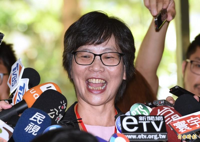 台北市政府顧問蔡壁如今天接受廣播專訪時斷言,她稱依據目前的民調數據來看,黃國昌的不分區立委絕對不會上。(資料照)