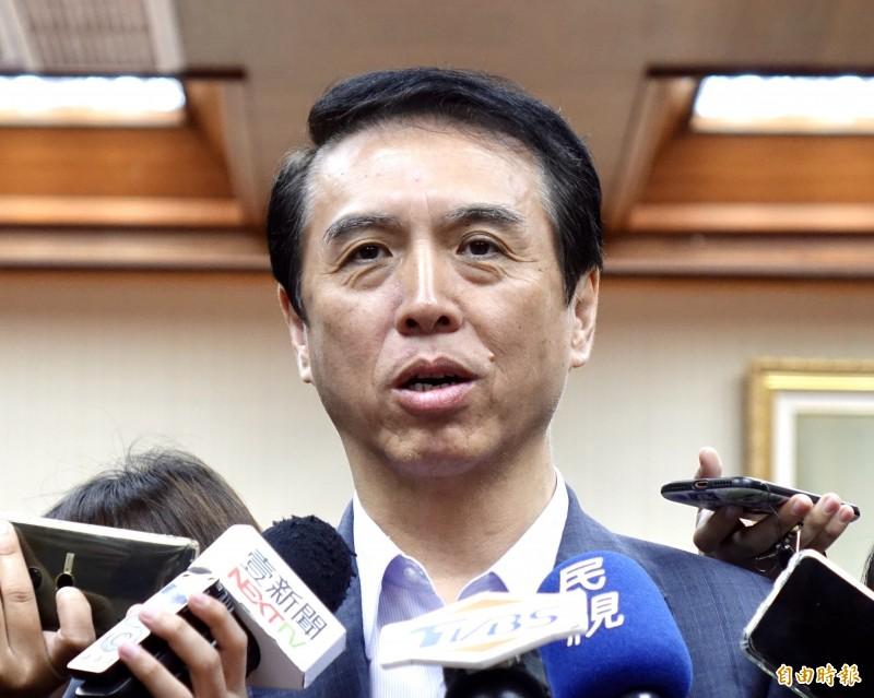 國民黨立法委員陳學聖。(資料照)