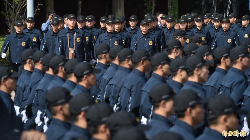 國安局特勤中心駁斥情蒐韓國瑜陣營傳言。圖為國安特勤人員結訓。(資料照)