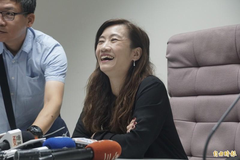 台灣基進黨批王淺秋爽領年終才落跑。(資料、記者黃佳琳攝)
