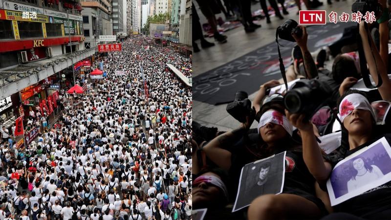 香港反送中、智利血腥鎮壓等事件,掀起全球對人權的關注。(路透)