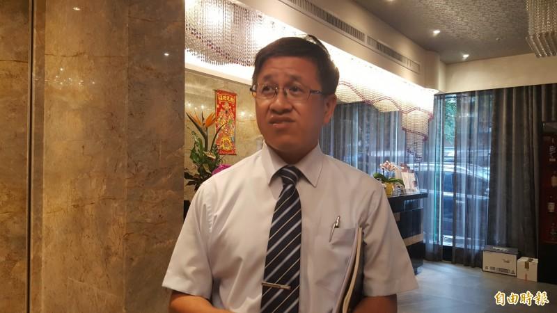 畜產公司董事長葉文忠。(記者楊心慧攝)