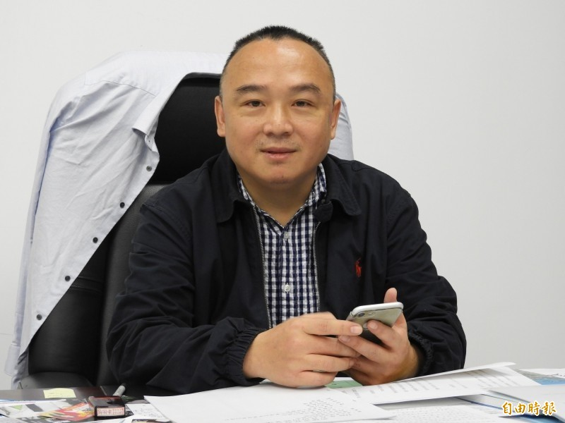 前高雄市觀光局長潘恒旭,現擔任韓國瑜競選辦公室的活動總監。(資料照)