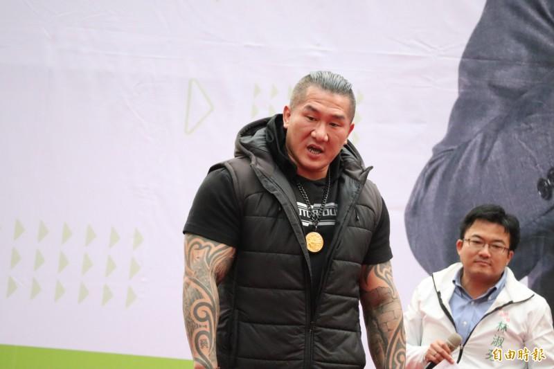 館長表示,楊蕙如基本上就是行銷公司,不是誰的網軍。(記者周湘芸攝)