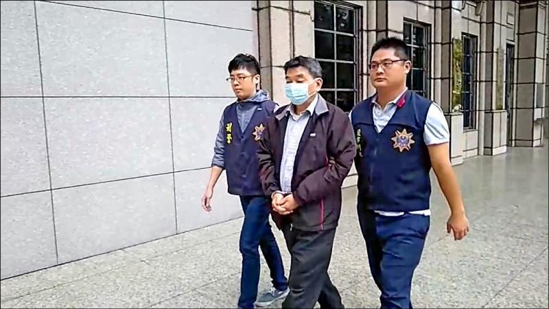 前印刷廠老闆廖學鯤涉嫌自組印鈔集團,被警方移送法辦。(記者邱俊福翻攝)