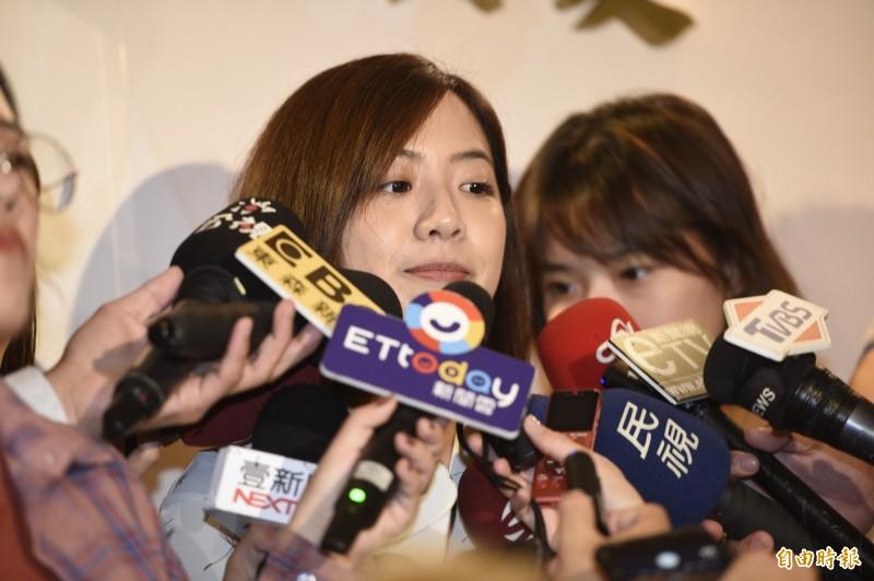 「學姐」黃瀞瑩遭王浩宇爆料,為領年終拖延請事假,對此,黃瀞瑩回應,對過去一年市政的努力有信心。(資料照)