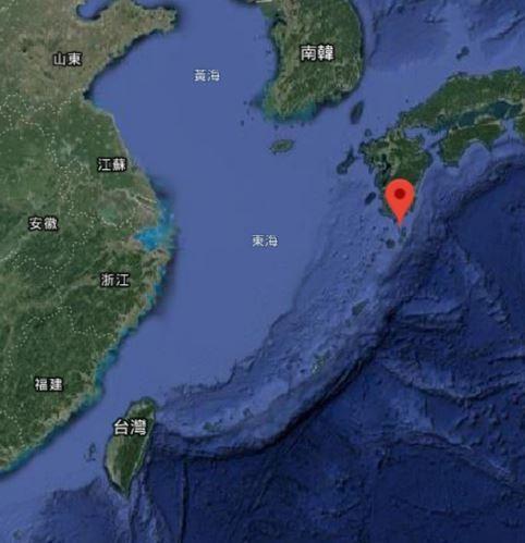 由於中國的導彈數量日益增多,「馬毛島」不僅能加強日本在東海上的防衛,還能幫助美軍分散風險。(圖擷取自Google 地圖)