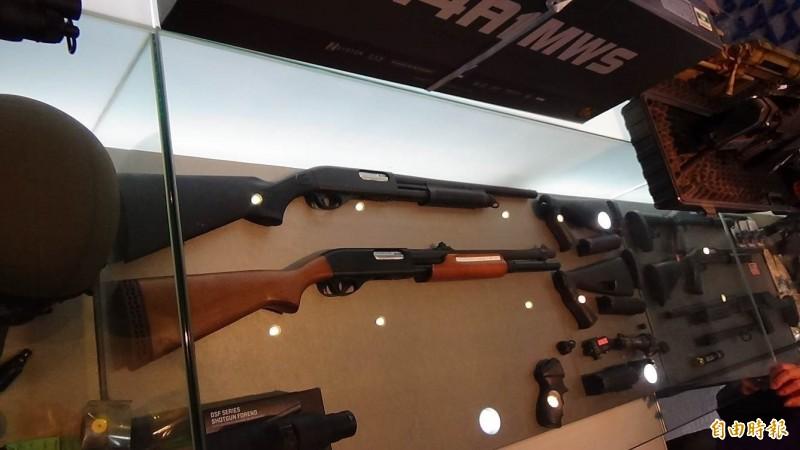 玩具模型槍作得具殺傷力,就變成違禁品。(資料照,記者楊政郡攝)