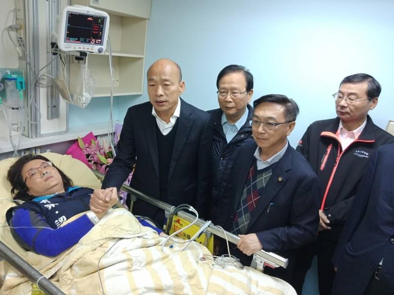 陳玉珍踩到重病家屬的痛處