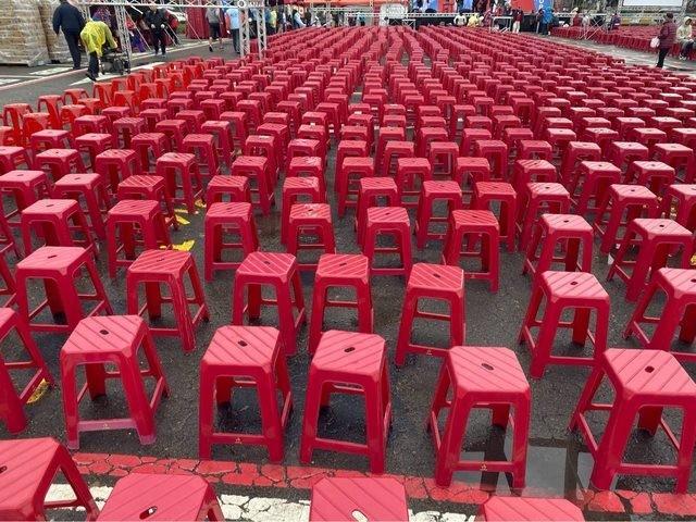 韓總新竹造勢2萬人? 四叉貓無懼威脅估算...約4000