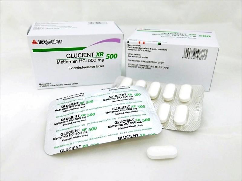 新加坡檢驗出三款降血糖藥物有含疑似致癌物NDMA,台灣沒有進口。(食藥署提供)