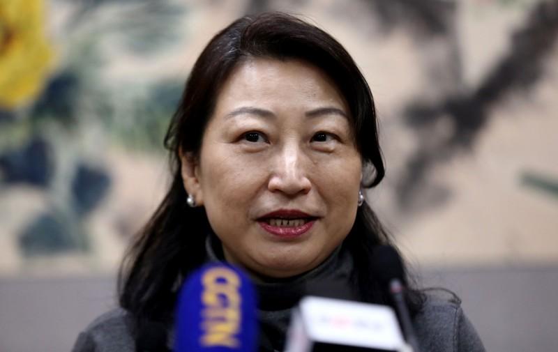 發明「送中條例」的香港律政司司長鄭若驊。(路透)