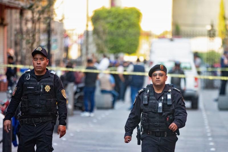 墨西哥總統府所在的國家宮週邊今發生槍擊案,釀4死2傷。(路透)