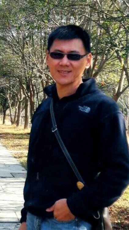 基隆市警二分局警備隊副隊長李惠煌。(記者林嘉東翻攝)