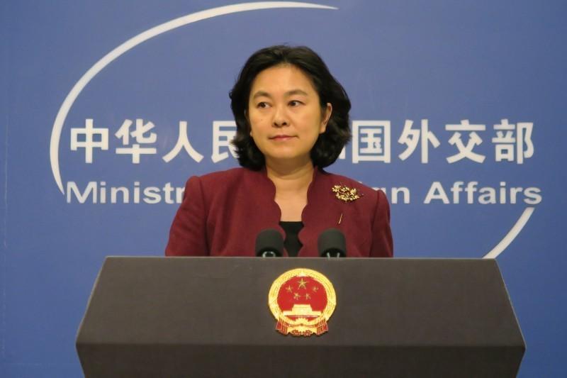 中國外交部發言人華春瑩今(10)天針對美國大使館批評中國人權狀況不滿表示,美方罔顧基本事實,對中國人權狀況說三道四、妄加指責,中方對此堅決反對。(中央社資料照)