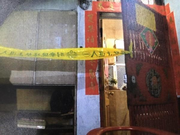 新北市板橋區男子黃偉哲疑虐打父親致死,圖為其住處。(資料照)
