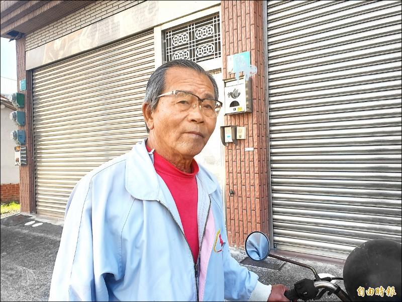 刑警劉三榮的父親表示殺警案判太輕,將提起上訴。(記者王涵平攝)