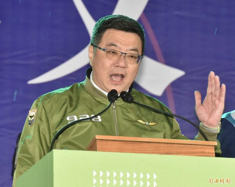 民進黨主席卓榮泰表示,雲林縣是2016年總統大選時建立起的「民主防線」,這次大選要守住這個民主防線。(資料照)