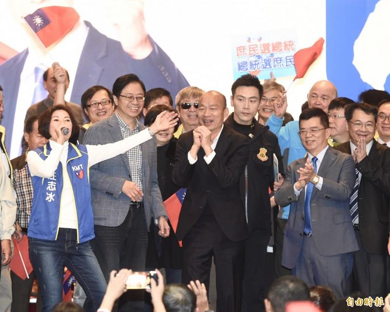 卓榮泰指出,韓國瑜若想在台灣搞階級鬥爭,會被民意所吞噬。(資料照)