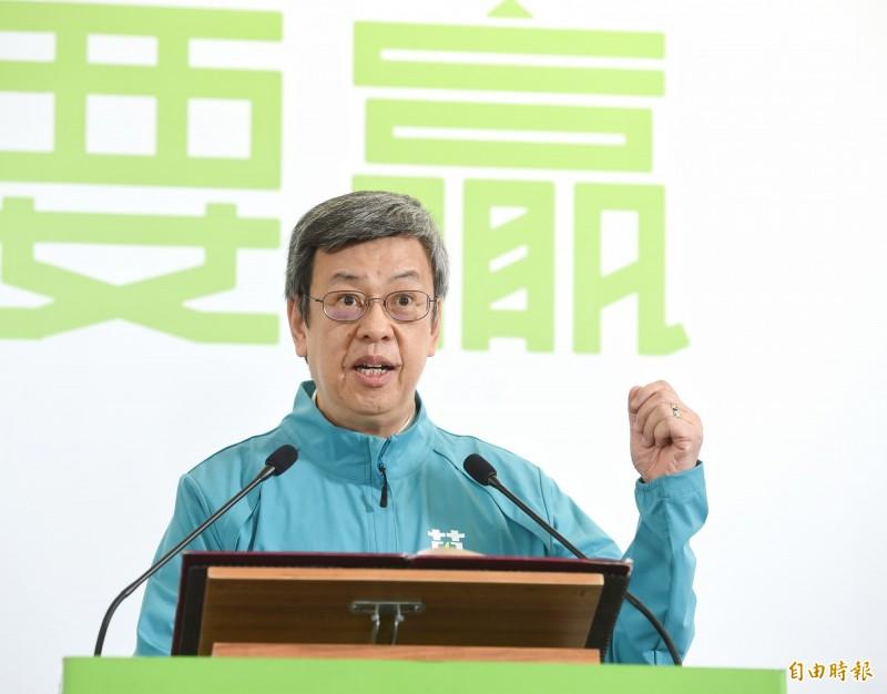 陳建仁副總統。(資料照)