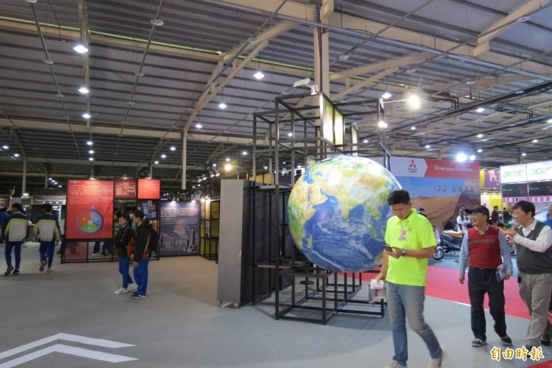 108年資訊月12日至16日一連5天在「台中國際展覽館」展出(記者蘇金鳳攝)
