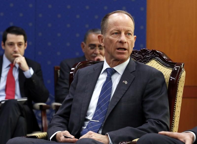 美國國務院亞太助卿史達偉敦促中國不要干涉台灣大選。(歐新社資料照)