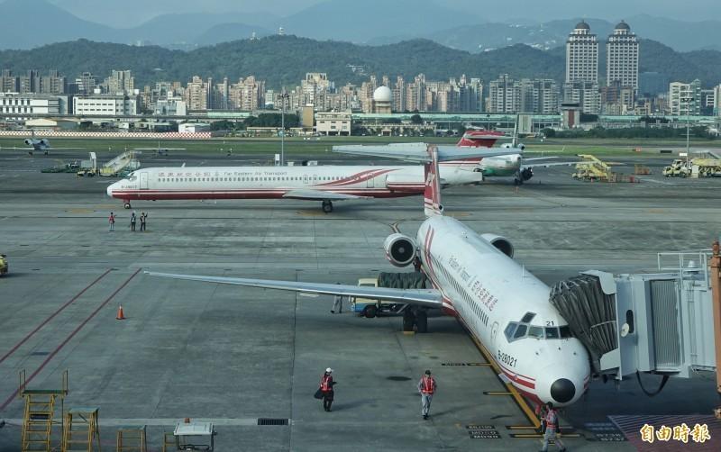 遠東航空昨突然宣布停止營運。(資料照)
