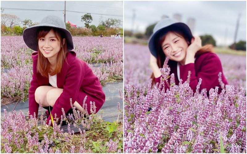 「政院女神」張瑜芳還被網友稱讚笑容「讓人有戀愛的感覺」。(圖擷自批踢踢)