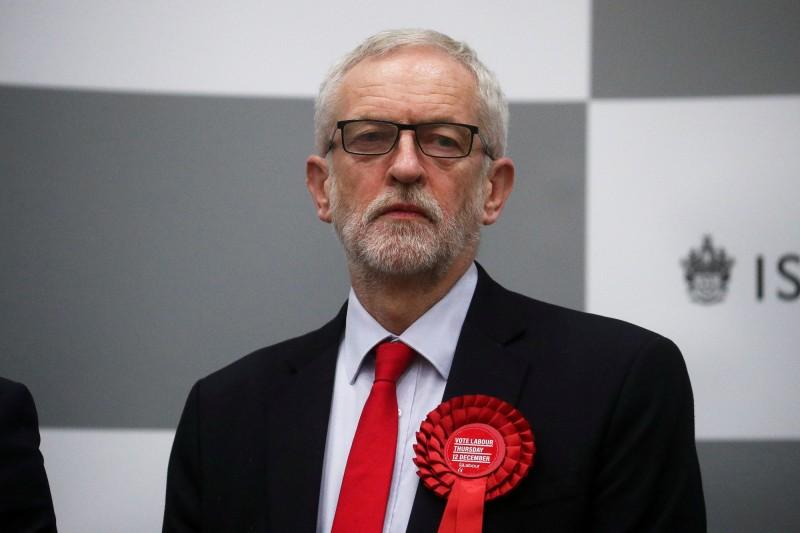 工黨黨魁柯賓表明,他將不會在未來的任何大選活動中帶領工黨。(路透)