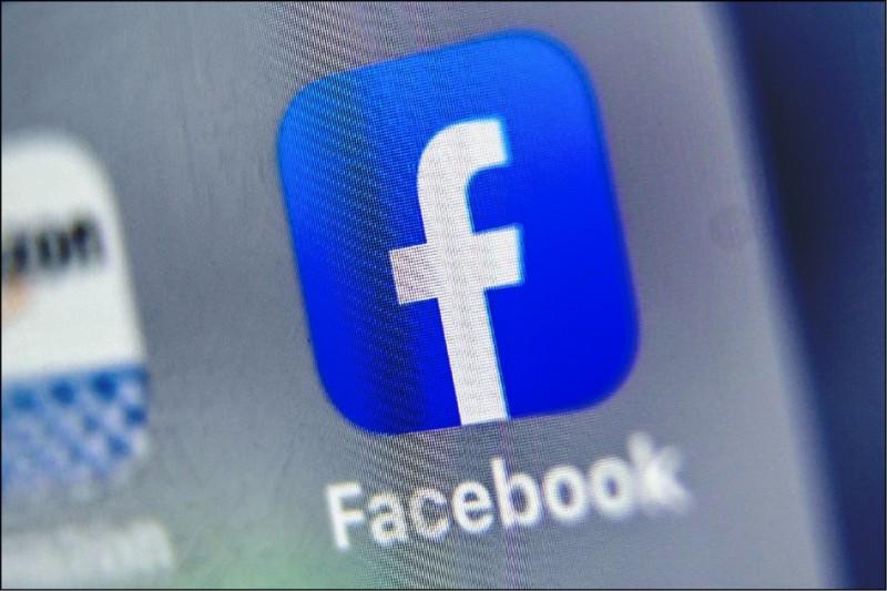 臉書昨在台灣移除了118個粉絲專頁、99個社團,以及用來管理這些粉絲專頁與社團的51個多重帳號。(法新社)