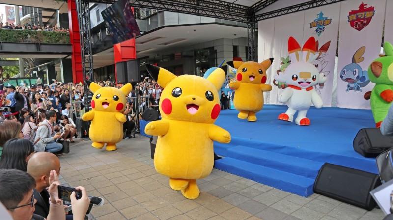12月21日(六)下午會在舞台區舉辦寶可夢見面會。(台北市商業處提供)