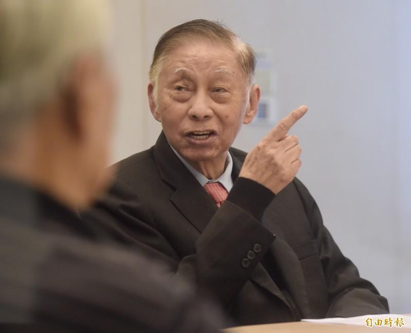文大董事長張鏡湖上月辭世,擇於28日在台北市第一殯儀館舉行公祭暨追思會。(資料照)