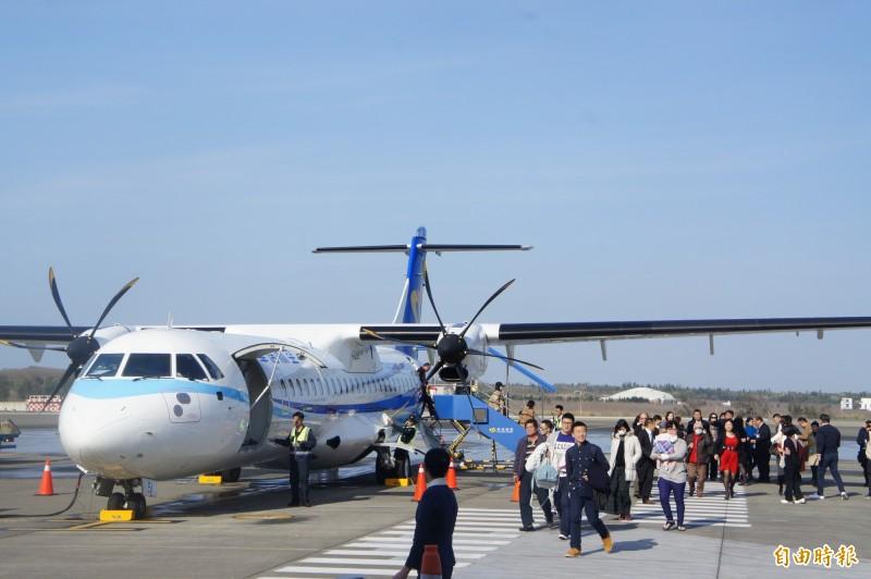 交通部民航局今天宣布,原訂17日開賣的春節離島第2波加班機將延後開放訂位時間。(記者劉禹慶攝)