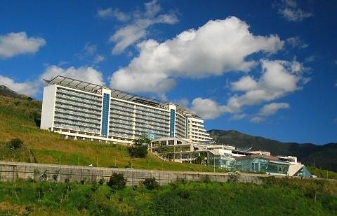 淡江大學蘭陽校園位於宜蘭縣礁溪鄉林美山上,佔地40公頃。(淡江大學提供)