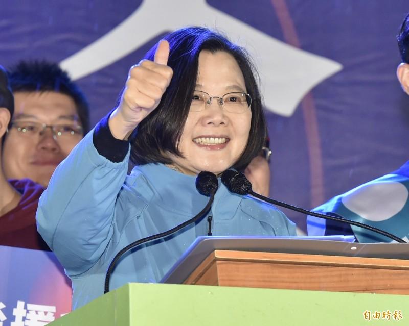 蔡英文在臉書親自回應,針對吳敦義的攻擊,她個人可以承受,但是台灣不能夠繼續容忍這樣的負面選舉文化。這羞辱的不是她個人,而是台灣民主的格調和人民的智慧。(資料照)