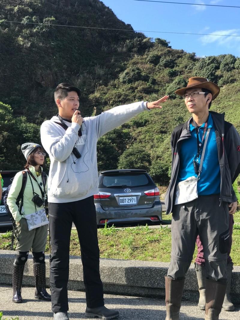 觀旅局培養首批淡蘭古道的生態導覽員。(觀旅局提供)