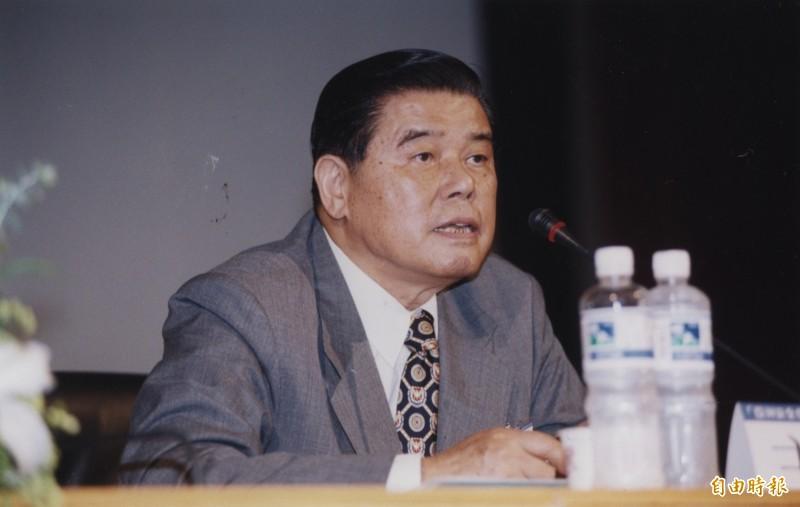 前總統府資政曾永賢3日晚間在台北過世,享耆壽97歲,其為外界熟知的身分,是擔任前總統李登輝的「兩岸密使」。(資料照,記者張嘉明攝)