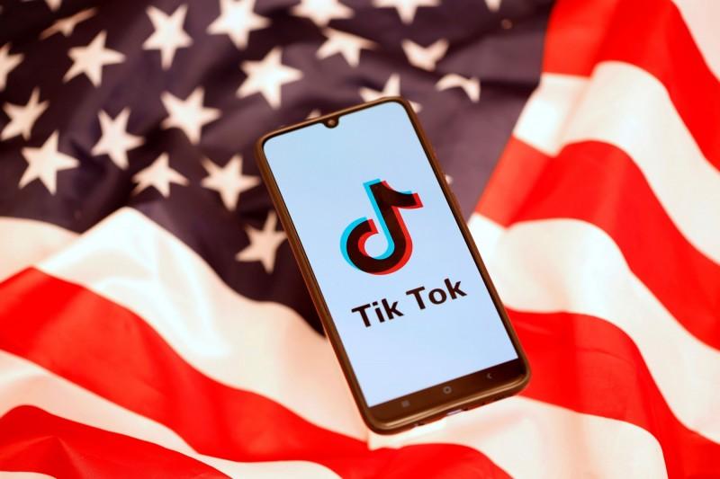 美國海軍在本週宣布禁用抖音,強調抖音構成「網路安全威脅」。(路透)