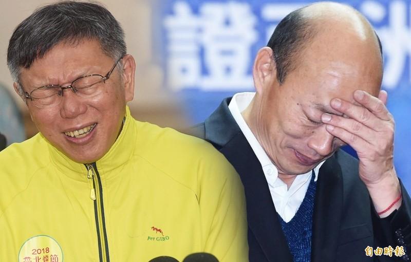 六都市長就任週年 柯文哲韓國瑜滿意度慘墊底
