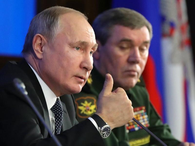俄羅斯總統普廷稱,俄國在新武器領域擁有強大優勢,史上第一次超越美國。(美聯社)