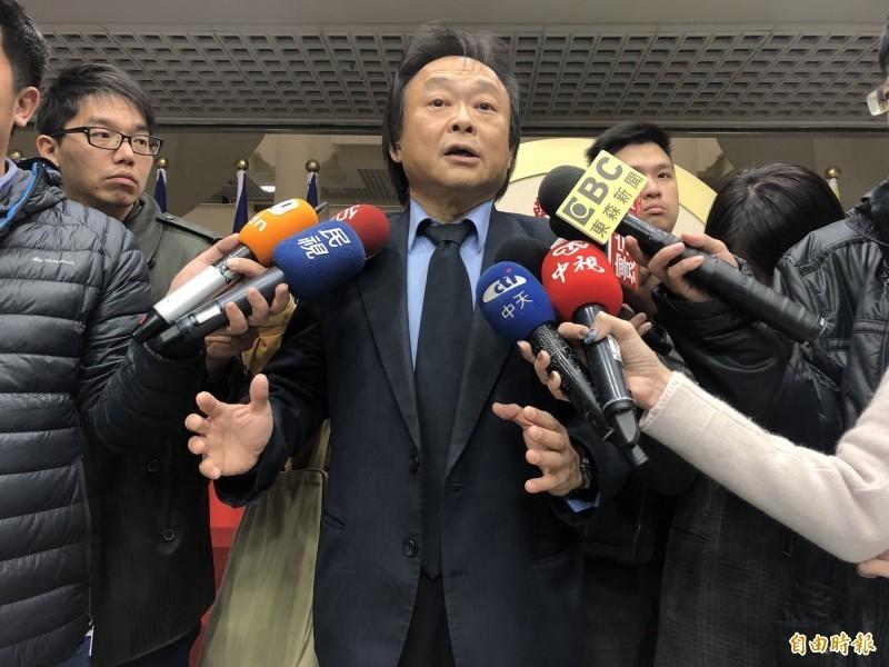 王世堅(見圖)說,韓國瑜最擅長的地方,已經發揮了他即時的幽默感、口才,可是還是沒辦法獲得多數年輕人的支持,這樣的情況下,韓國瑜確實已經失去年輕人這一塊的民心。(資料照)