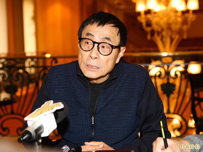 資深音樂人劉家昌日前預測韓國瑜會得800萬票當選,今天他還發豪語,「我估韓國瑜,得八百萬票,是保守的估計」。(資料照)