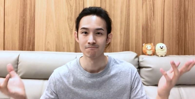波特王今發出影片對中國網友反擊,並呼籲全台民眾要在1月11日出門投票。(圖取自波特王 Potter King臉書)