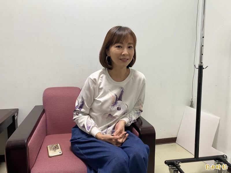 因電視劇《麻辣鮮師》中「萬老師」一角聞名的女星郭昱晴日前不時因應時事批評韓國瑜,而遭酸民出征洗版。(資料照)