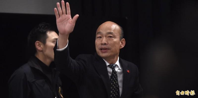 汪浩分析,若韓國瑜成功當選總統,並恢復軍公教原有年金,年金在韓任內就會破產。(資料照)