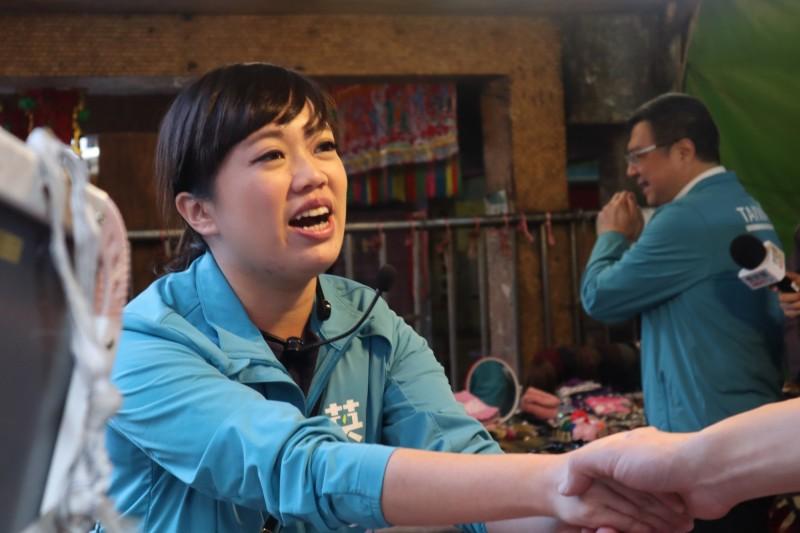 呂孫綾將出席5日民進黨於新莊區的造勢活動。示意圖(記者周湘芸攝)