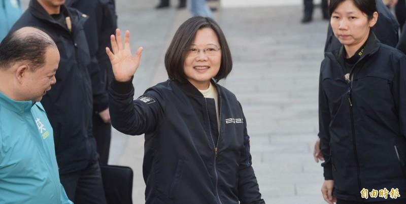 美國學者祁凱立分析台灣大選結果,若是現任總統蔡英文連任,中國可能會出現3種反應。(資料照)