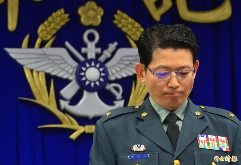 國防部前發言人羅紹和。(資料照)
