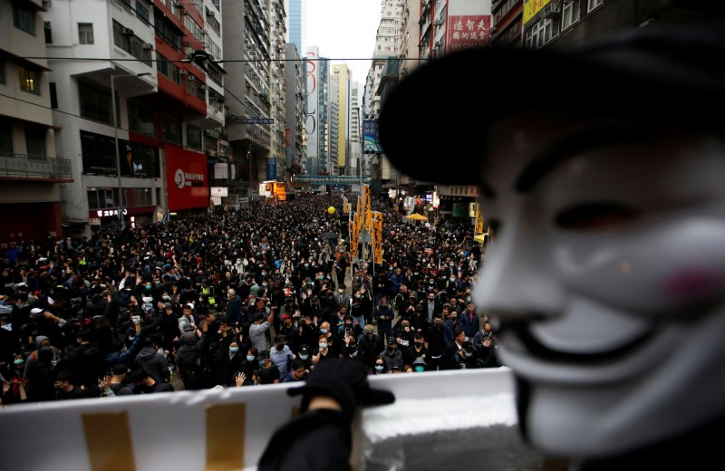 香港政府3日宣布,除了疑似出現不明肺炎、傳為SARS的病例外,也發生2起疑似MERS的病例。(路透檔案照)
